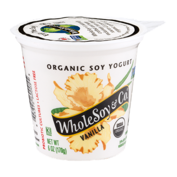 WholeSoy & Co. Organic Soy Yogurt Vanilla