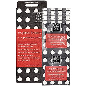 Apivita Express Beauty Mask With Pomegranate 12 x 0.28 oz applications
