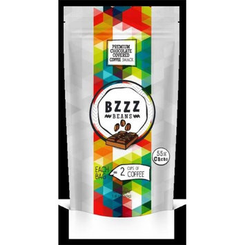 BZZZ BEANS 970 Premium Chocolate Covered Coffee Snack 8 Pack