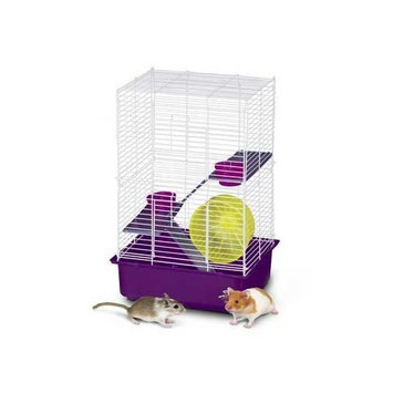 Super Pet 3-Story My First Home Hamster, 4-Pack