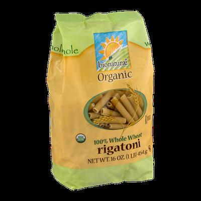 Bionaturae Organic 100% Whole Wheat Rigatoni