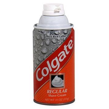 Colgate Shave Cream, Regular - 11 oz