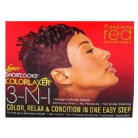 Luster's Shortlooks Colorlaxer Passion Red (for Women)