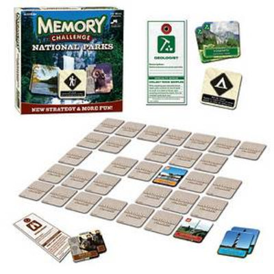 USAopoly Memory Challenge National Parks Edition Ages 6+, 1 ea
