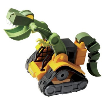 Educational Insights Dino Construction Wrecker T-Rex Skid Loader