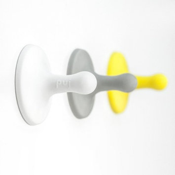 Puj Nubs - Clever Grippy Hooks (white, grey, yellow)