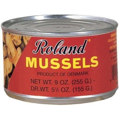 Roland Mussels in Water