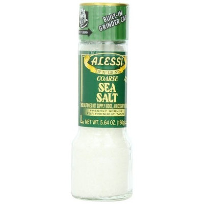 Alessi Grinder Sea Salt, 5.64-Ounce (Pack of 6)