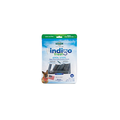 Pet Safe PetSafe Indigo Fresh Dental Stick Dog Treat Medium