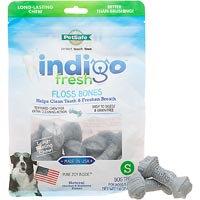 Pet Safe PetSafe Indigo Fresh Floss Bone Dog Treat Small