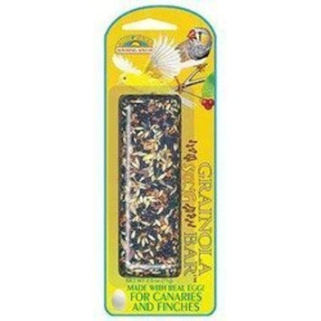 Sun Seed Company BSS85130 Canary/Finch Grainola Treat Bar, Canary Song, 2.5-Ounce
