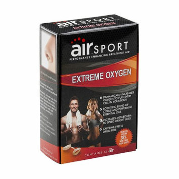 air SPORT EXTREME OXYGEN - Performance Enhancing Nasal Breathing Aid