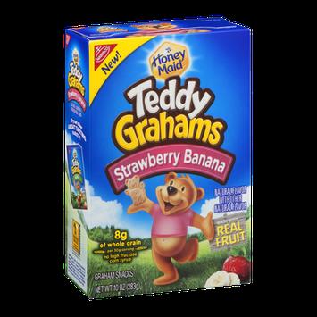Nabisco Teddy Grahams Honey Maid Graham Snacks Strawberry Banana