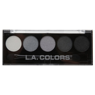 L.A. Colors 5 Color Metallic Eyeshadow, Ammunition, .26 oz