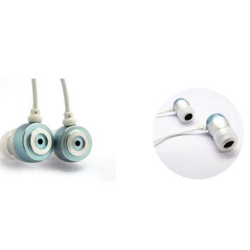 Inland 3.5mm Earbuds, Metallic Blue