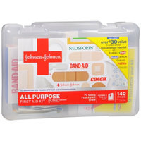 Johnson & Johnson Red Cross All-Purpose First Aid Kit