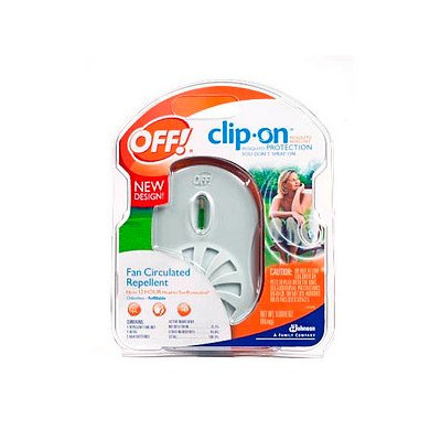 OFF! Clip On Mosquito Protection Starter Kit