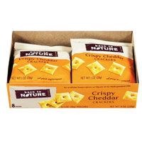 Back to Nature Crispy Cheddar Crackers Grab N Go, 8 oz