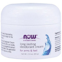 NOW Foods, DEODORANT CREAM LONG LAST JAR 2.3 OZ