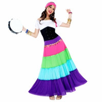 Goddessey 87011-M Renaissance Gypsy Costume Medium
