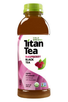 Titan Tea TEA, BLACK, RASPBERRY, (Pack of 12)