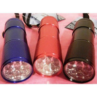 Momentum Set of 3 Multicolor Led Flashlights, Hand Held Flashlights, They Are- Led Flashlights on a Rope, Red,blue and Black Flashlights