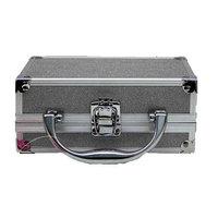 Tri Coastal Design Small Glitter Cosmetic Case - Silver
