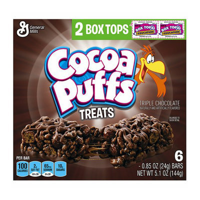 Cocoa Puffs Triple Chocolate Treats