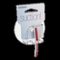 interDesign Suction! Toothbrush Holder