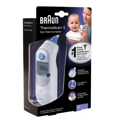 Braun Thermoscan 5 Ear Thermometer, 1 ea