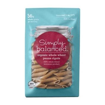 Simply Balanced Organic Whole Wheat Penne Rigate Pasta 16 oz