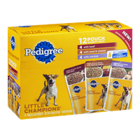 Pedigree Dog Food Little Champions Variety Pack - 12 CT
