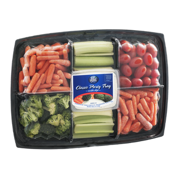 Eat Smart Classic Party Tray with Dip