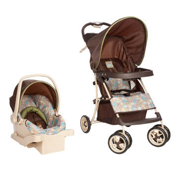 Dorel Juvenile Cosco Sprinter Go Lightly Travel System in Kontiki
