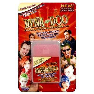 Dyna-doo Dyna Doo Nourishing Hairstyling Highlighting Tabs, Pink Highlights, Rose Fragrance, 15-Count Packages (Pack of 12)