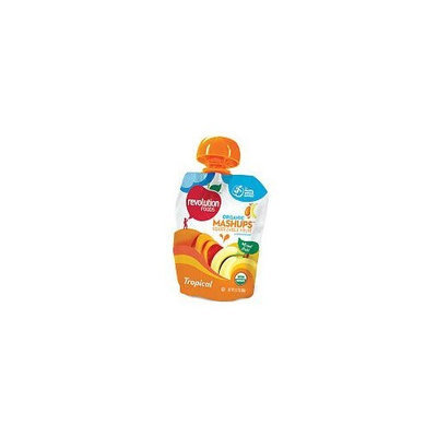 Nest Collective Revolution Foods Organic Squeezable Fruit Tropical Mashups Baby Food - 3.17 Oz. Package