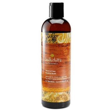 Bodhichitta Botanicals Wild and Free Bubble Bath, 12 Ounce