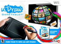 THQ uDraw Game Tablet Black with uDraw Studio Instant Artist