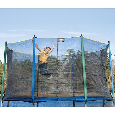 Pure Fun 9114E 14 FT Safety Net Enclosure for Trampoline