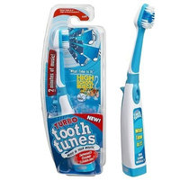 Turbo Tooth Tunes Battery Powered Toothbrush, HSM2