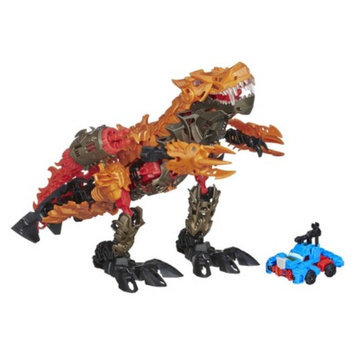 Transformers Age of Extinction Construct-Bots Dinofire Grimlock and