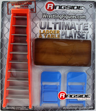 Wwe WWE Ultimate Ladder & Table Playset (Orange) - Ringside Exclusive Toy Wrestling Action Figure Accessories Pack