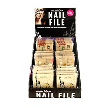 Ddi Kole Imports Nail File Matchbook Display Case Of 36
