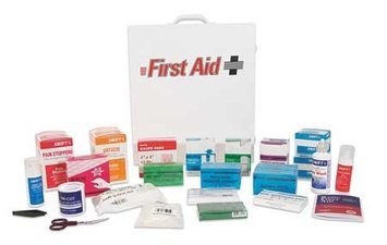 North By Honeywell First Aid Kit, Bulk, White,18 Pcs,150 Ppl Model: 68180GRR