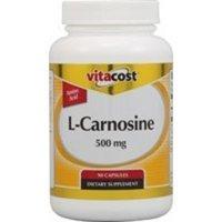 Nutraceutical Sciences Institute  NSI Vitacost L-Carnosine -- 500 mg - 90 Capsules