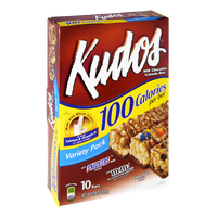Kudos Milk Chocolate Granola Bars Variety Pack - M&M's, Snickers and Chocolate Chip Flavor