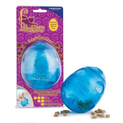 Premier Pet Products PetSafe FUNKitty Egg Cersizer Interactive Toy and Food Dispenser