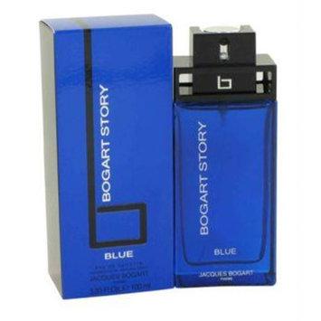 Bogart Story Blue by Jacques Bogart Eau De Toilette Spray 3.4 oz