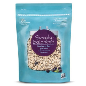 Simply Balanced Granola Bagged Blueberry Flax 12 oz