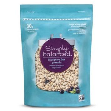 Simply Balanced Granola Bagged Blueberry Flax 12 oz